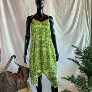 Maurice's lime green summer dress